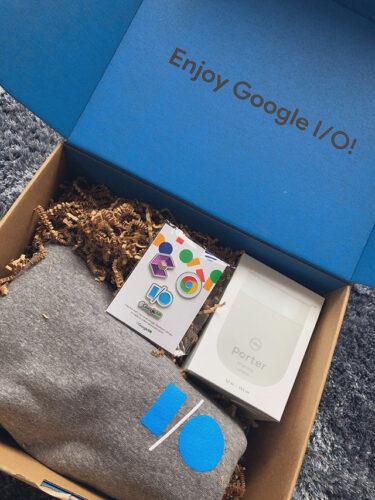 Google、一部の開発者にGoogle I/Oスワッグを郵送